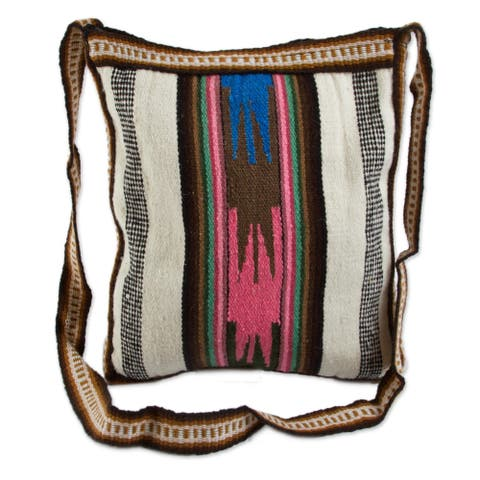 Andean Dream Traditional Handmade Wool/ Cotton Satchel