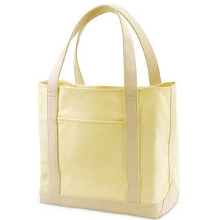Garden Pacific by Traveler's Choice 12-inch Causal Open-top Canvas Tote