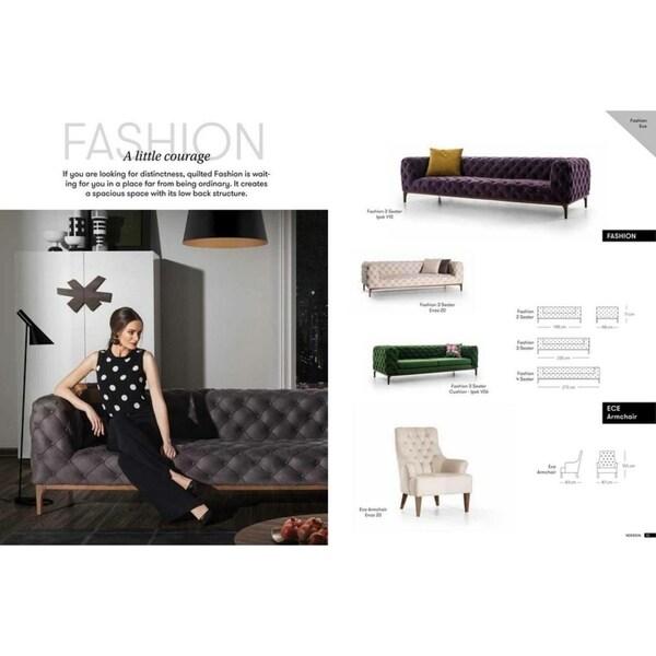 Fashion Italian Design Mid Century Modern Premium Quality Grey Loveseat Free Shipping Today 23009247