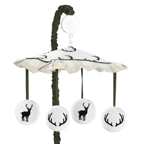 Shop Sweet Jojo Designs Green And Beige Rustic Deer