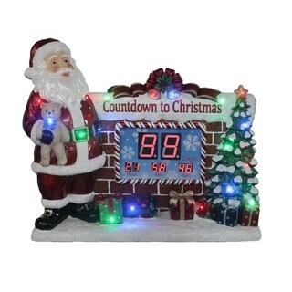 "34"" Christmas Countdown Clock"
