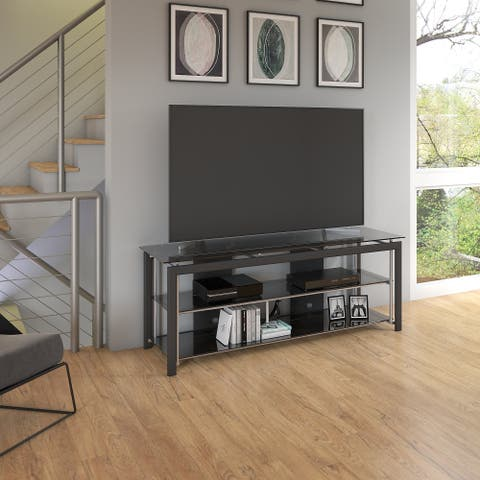 Copper Grove Sliven 65-inch TV Stand for Flat Screens in Black