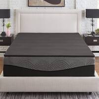 Slumber Solutions Active 1-inch Ebonite Memory Foam Topper