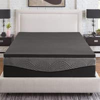 Slumber Solutions Active 2-inch Ebonite Memory Foam Topper
