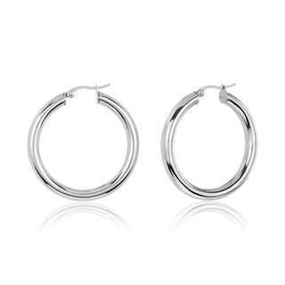 Link to ELYA Large Stainless Steel Hoop Earrings Similar Items in Earrings