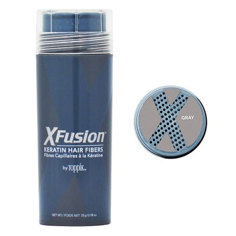 XFusion 0.98-ounce Gray Keratin Hair Fibers
