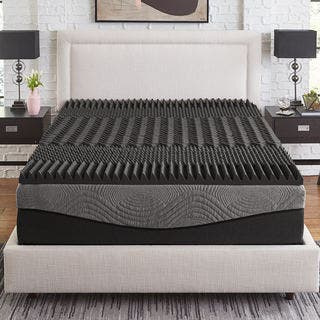 2 5 Inch Egg Crate Topper Memory Foam Mattress Toppers Find Great