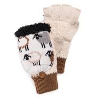MUK LUKS® Women's Fingerless Flip Mittens
