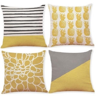 Pineapple Throw Pillow Covers