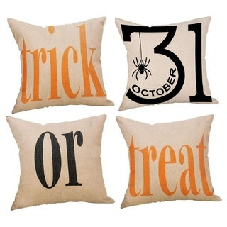 Trick or Treat Halloween Cotton Linen