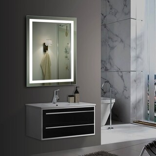 VERO Lighted Impressions LED Wall Mirror