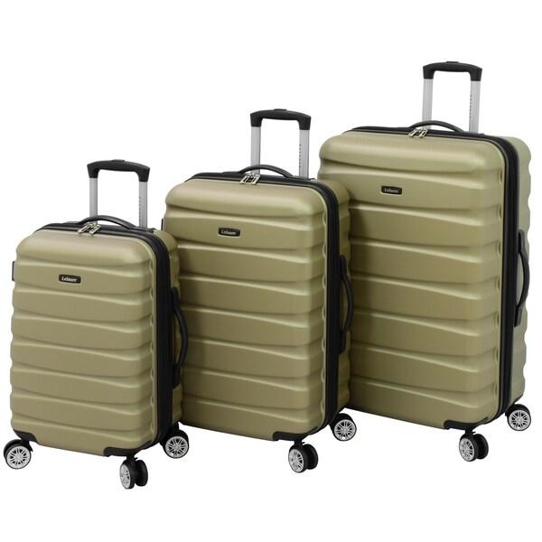 Leisure Ignite 3-piece Hardside Spinner Luggage Set