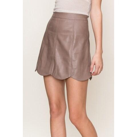 Olivia Pratt Scalloped Skirt