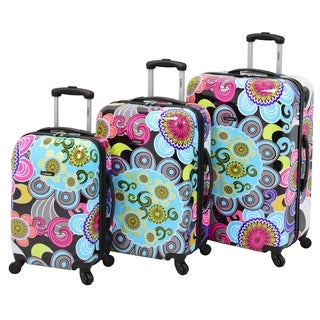 Leisure Gallery 3-piece Hardside Spinner Luggage Set