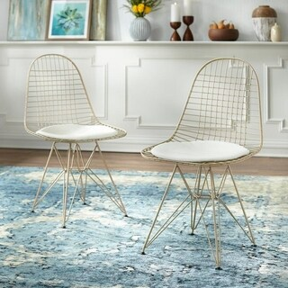 Simple Living Eiffel Wire Dining Chair (Set of 2)
