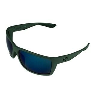 Costa Del Mar Reefton Sunglasses Matte Gray w/ Gray 580P Lens - Grey