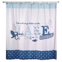Lake Life Shower Curtain - Multi
