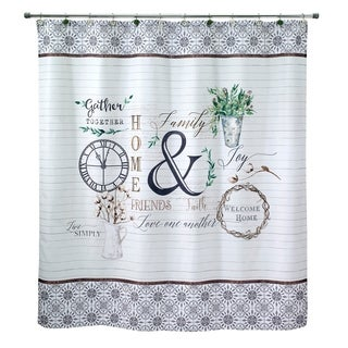 Modern Farmhouse Shower Curtain