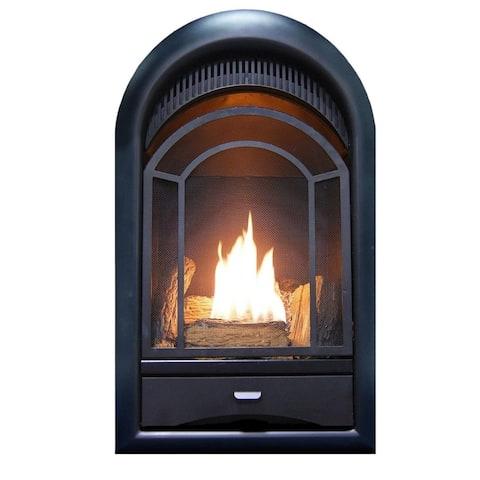 ProCom Ventless Fireplace Insert Thermostat Control Arched Door 10,000 BTU Model: PCS100T