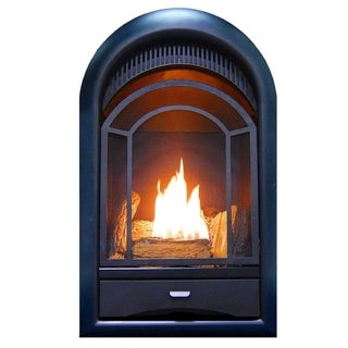 ProCom Ventless Fireplace Insert Thermostat Control Arched Door 15,000 BTU Model: PCS150T