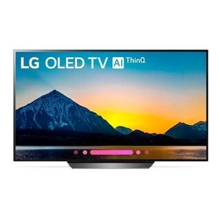 """LG OLED65B8PUA 4K HDR Smart OLED TV w/ AI ThinQ® - 65"""" Class (64.5"""" Diag)"""