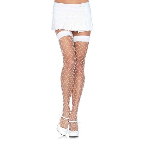 83a55842f56 Shop Leg Avenue Women s Fence Net Thigh High