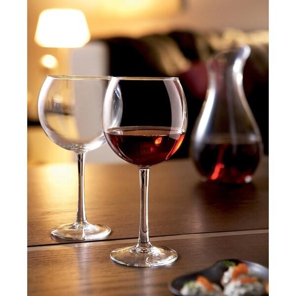 23498dc8b55 Shop Luminarc Cachet 20.5 Ounce Balloon Wine Glass, Set of 4 - Free ...