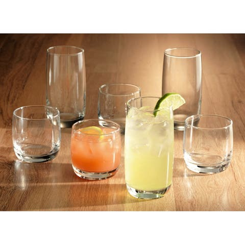 Luminarc 16 Piece Nordic Tumbler Set