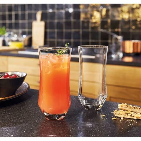 Luminarc Baroque 16.5 Ounce Cooler Glass, Set of 4