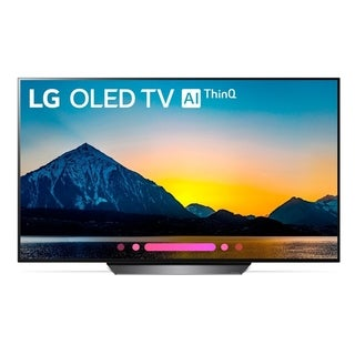 "LG OLED55B8PUA 4K HDR Smart OLED TV w/ AI ThinQ® - 55"" Class"