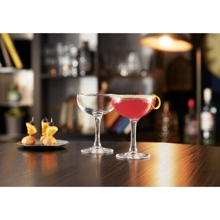 Luminarc 5.5 Ounce Barcraft Coupe Cocktail Glass, Set of 4