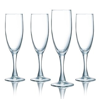 Luminarc Atlas 5.75 Ounce Champagne Flute, Set of 4