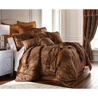 PCHF China Art Brown 3-piece Comforter Set