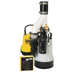 Basement Watchdog  1/3 hp 3720 gph Aluminium  Submersible Sump Pump