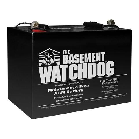 Basement Watchdog Maintenance Free Battery