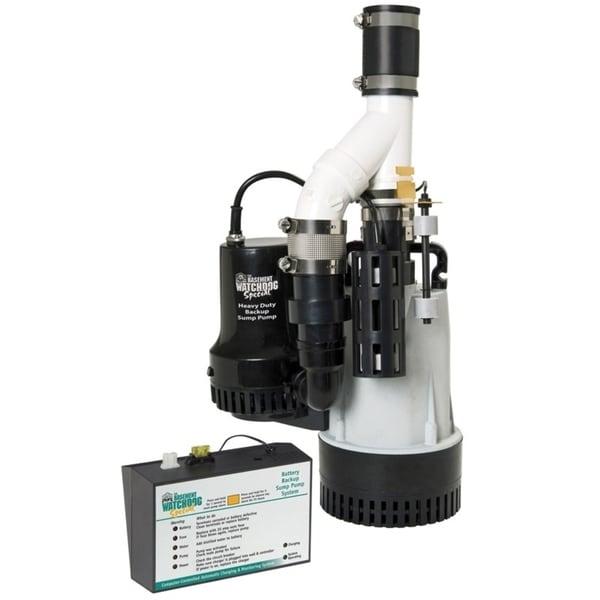 Basement Watchdog 1/2 hp 4400 gph Aluminium Submersible Sump Pump