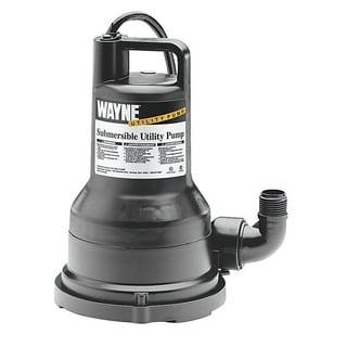 Wayne  Thermoplastic  Submersible Utility Pump  1/5 hp 2500 gph 115 volts