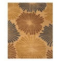 Hand-tufted Wool Blue Transitional Timber Rug (8'9 x 11'9) - 8'9 X 11'9