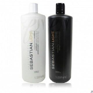 Sebastian Light Weightless Shine 33.8-ounce Shampoo & Conditioner