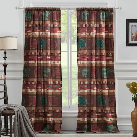 Greenland Home Canyon Creek Curtain Panel Pair - 42 x 84