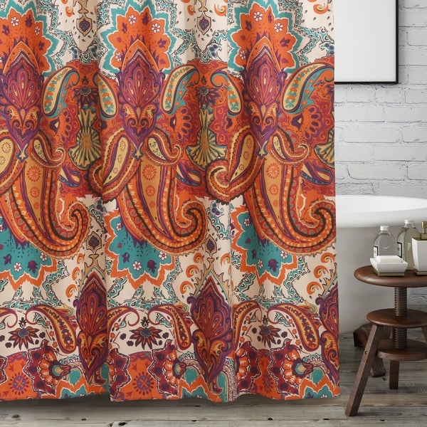 Greenland Home Nirvana Spice Shower Curtain