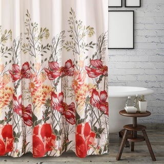 Barefoot Bungalow Meadow Shower Curtain