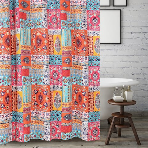 Barefoot Bungalow Indie Spice Shower Curtain