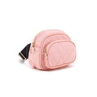 Like Dreams Buttercup Nylon Quilted Fanny Pack