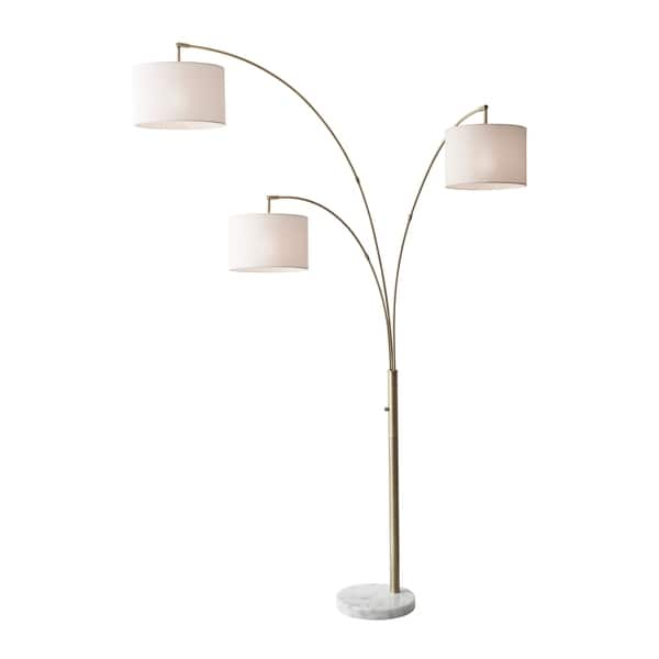 Adesso Bowery 3 Arm Arc Lamp Free Shipping Today