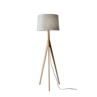 Adesso Eden Natural Ash Floor Lamp