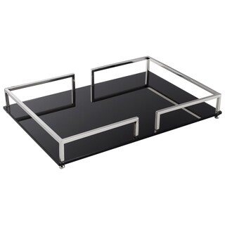 Large Contempo Noir Tray