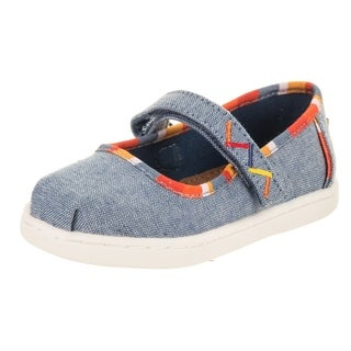 Toms Toddlers Tiny Mary Jane Casual Shoe