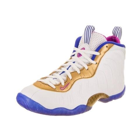Nike Kids Little Posite One (GS) Basketball Shoe