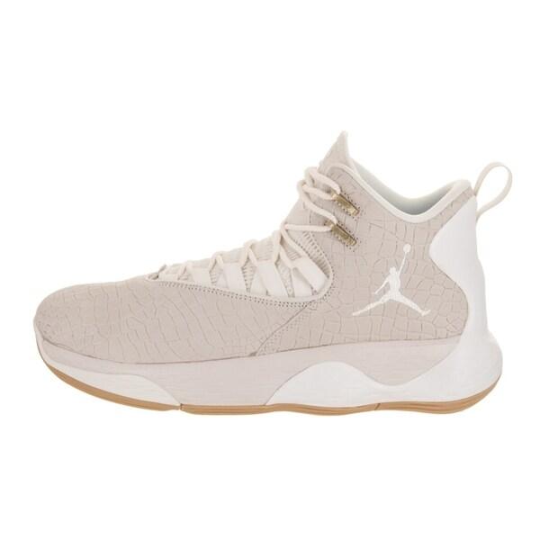 Nike Jordan Herren Super.Fly MVP L Synthetic Leather Trainer